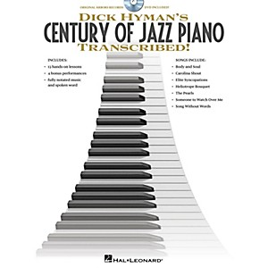 Hal-Leonard-Dick-Hyman-s-Century-Of-Jazz-Piano---Transcribed---Instructional-Book-DVD-Standard