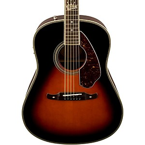 Fender-Ron-Emory-Loyalty-Slope-Shoulder-Acoustic-Electric-Guitar-Vintage-Sunburst