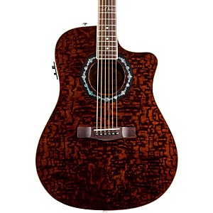 Fender-T-Bucket-300-CE-Cutaway-Acoustic-Electric-Dreadnought-Guitar-Trans-Dark-Brown