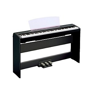 Yamaha-P-105-88-Key-Weighted-Action-Digital-Piano-with-L85-Wood-Stand-Black