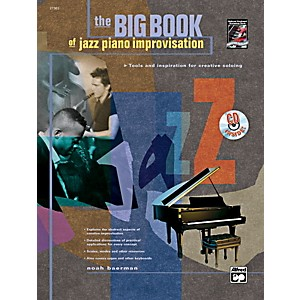 Alfred-Big-Book-of-Jazz-Piano-Improvisation-Book---CD-Standard