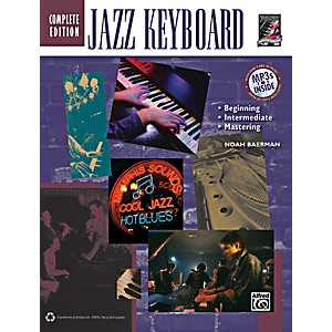 Alfred-Jazz-Keyboard-Method-Complete-Book---CD-Standard