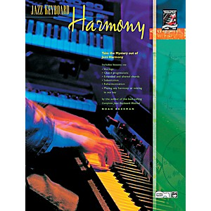 Alfred-Jazz-Keyboard-Harmony-Book---CD-Standard