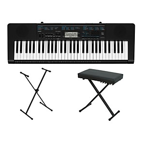 Casio-CTK-2300-61-Key-Portable-Keyboard-w--Stand-and-bench-Standard