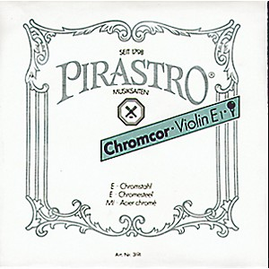 Pirastro-Chromcor-Series-Violin-E-String-1-4-1-8-Ball-End