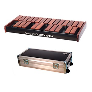 Wernick-MkVI-Bubinga-Xylosynth-w-Flight-Case-and-Accessories-2-Octave
