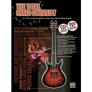Alfred-The-Total-Shred-Guitarist--Book-CD-DVD--Standard