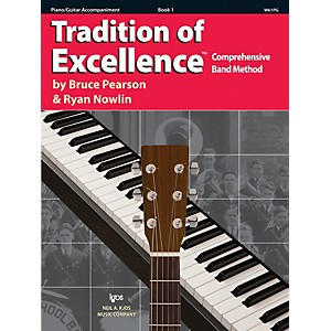KJOS-Tradition-Of-Excellence-Book-1-for-Piano-Guitar-Accomp-Standard