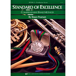 KJOS-Standard-Of-Excellence-Book-3-Conductor-Score-Standard