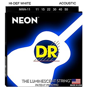 DR-Strings-K3-NEON-Hi-Def-White-Acoustic-Medium-Lite-Guitar-Strings-Standard