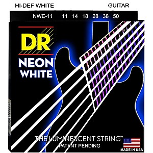 DR-Strings-K3-NEON-Hi-Def-White-Electric-Heavy-Guitar-Strings-Standard