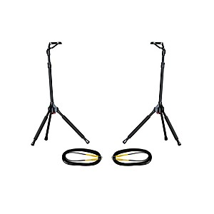 Ultimate-Support-GS-100-Genesis-Single-Guitar-Stand-2-Pack-w-Free-Cables-Standard