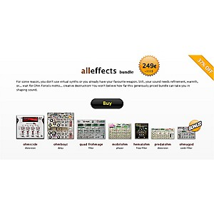 Ohm-Force-All-Effects-Bundle-Standard