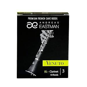 Andreas-Eastman-Venuto-Bb-Clarinet-Reeds-Strength-3-Box-of-10