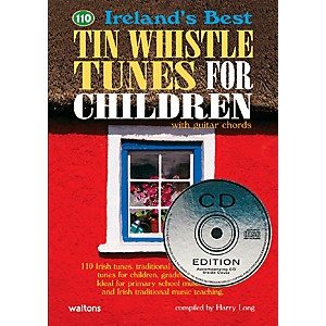 Waltons-110-Ireland-s-Best-Tin-Whistle-Tunes-for-Children-Book-CD-Standard