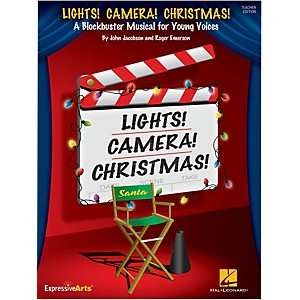 Hal-Leonard-Lights--Camera--Christmas--Performance-Accompaniment-CD-Standard