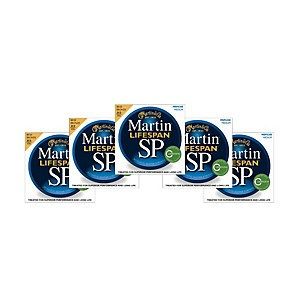 Martin-SP-6200-80-20-Bronze-Lifespan-Coated-Acoustic-Strings-Medium-Regular--5-Pack--Standard