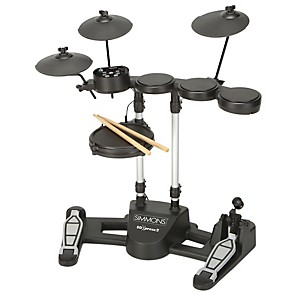 SIMMONS-SDXpress2-Compact-5-Piece-Electronic-Drum-Kit-Standard