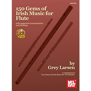 Mel-Bay-150-Gems-of-Irish-Music-for-Flute-Standard