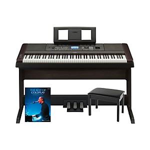 Yamaha-Yamaha-DGX-650-Platinum-Bundle-with-Bench---Songbook-Standard