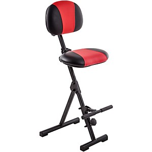 Mey-America-Fold-Up-Seat-for-Stage-or-Studio-Red-Black