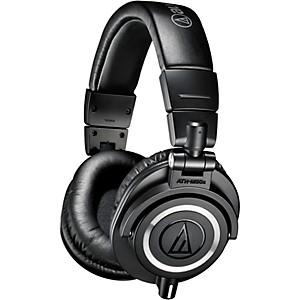Audio-Technica-ATH-M50x-Closed-Back-Professional-Studio-Monitor-Headphones-Black