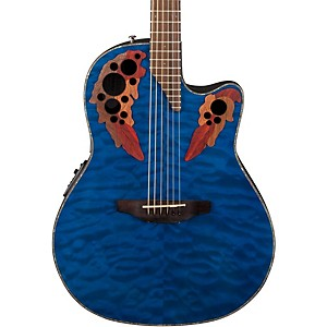 Ovation-Celebrity-Elite-Plus-Acoustic-Electric-Guitar-Quilted-Maple-Trans-Blue