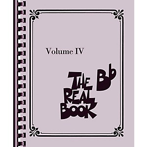 Hal-Leonard-The-Real-Book---Volume-4--B-Flat-Edition--Standard