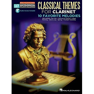 Hal-Leonard-Classical-Themes---Clarinet---Easy-Instrumental-Play-Along-Book-with-Online-Audio-Tracks-Standard