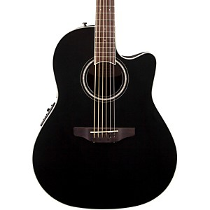 Ovation-Celebrity-Standard-Mid-Depth-Cutaway-Acoustic-Electric-Guitar-Black