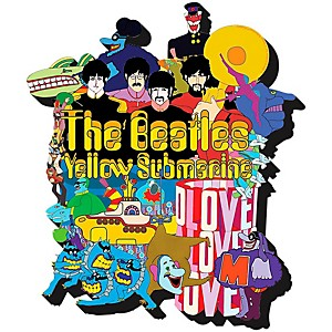 Hal-Leonard-The-Beatles-Yellow-Submarine--Chunky-Magnet-Standard