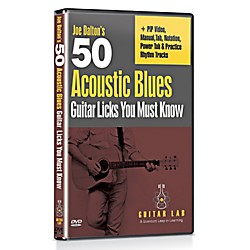 eMedia 50 Acoustic Blues Licks You Must Know DVD (TF01126)