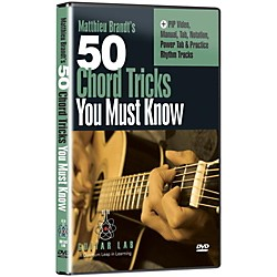 eMedia 50 Chord Tricks You Must Know DVD (TF01132)