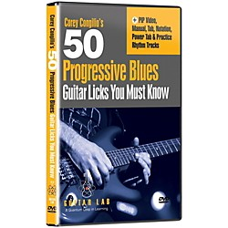 eMedia 50 Progressive Blues Licks You Must Know DVD (TF01133)