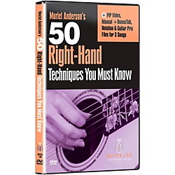 eMedia 50 Right Hand Techniques You Must Know DVD (TF04143)