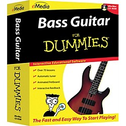 eMedia Bass For Dummies CD-ROM (FD07101)