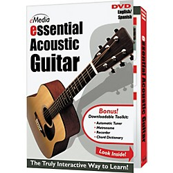 eMedia Essential Acoustic Guitar Instructional DVD (DG07062)