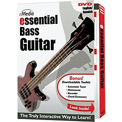 eMedia Essential Bass Instructional DVD (DG07063)
