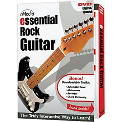 eMedia Essential Rock Guitar Instructional DVD (DG07061)