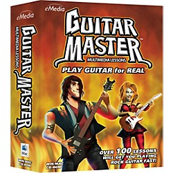 eMedia Guitar Master Instructional CD-Rom (EG09081)