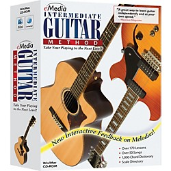 eMedia Intermediate Guitar Method Version 3 (EG10112)