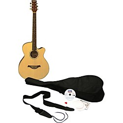 eMedia Learn to Play Guitar Acoustic Guitar Pack (EG12031)