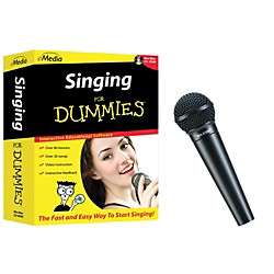 eMedia Singing for Dummies CD-ROM and Digital Reference Vocal Mic (FDRV5050)