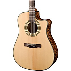 fender CD220SCE Exotics Ash Burl Acoustic-Electric Guitar (0961501021)