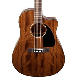 fender CD60CE All Mahogany Acoustic Electric Guitar (0961590221)