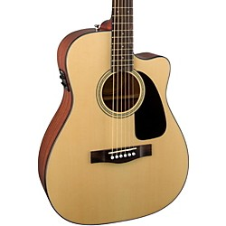 fender CF-60CE Folk Acoustic-Electric Guitar (0961454221)