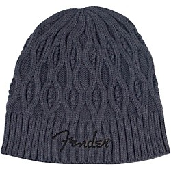 fender Cable Knit Logo Beanie (9106625406)