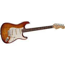fender Select Stratocaster Exotic Quilt Maple Top Electric Guitar (0170710871)