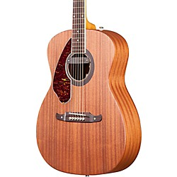 fender Tim Armstrong Left-Handed Deluxe Acoustic-Electric Guitar (0968315221)