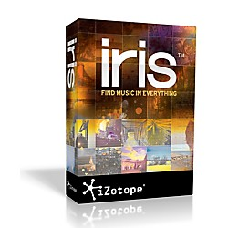 iZotope Iris Spectral Selection Synth (IrisRetailBox)